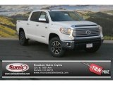 2014 Super White Toyota Tundra Limited Crewmax 4x4 #91318719