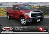 2014 Barcelona Red Metallic Toyota Tundra SR5 Double Cab 4x4 #91318718