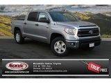 2014 Silver Sky Metallic Toyota Tundra SR5 Crewmax 4x4 #91318716