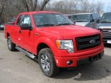 2014 Race Red Ford F150 STX SuperCab 4x4 #91319331