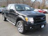 2014 Tuxedo Black Ford F150 STX SuperCab 4x4 #91319330