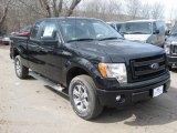 2014 Tuxedo Black Ford F150 STX SuperCab 4x4 #91319328