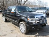 2014 Tuxedo Black Ford F150 Platinum SuperCrew 4x4 #91319325