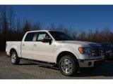 2014 White Platinum Ford F150 Lariat SuperCrew #91318966