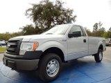 2014 Ingot Silver Ford F150 XL Regular Cab 4x4 #91362902
