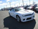 2014 Summit White Chevrolet Camaro SS Convertible #91363181