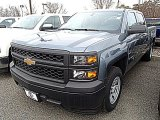 2014 Blue Granite Metallic Chevrolet Silverado 1500 WT Crew Cab #91362715
