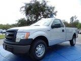 2014 Ingot Silver Ford F150 XL Regular Cab #91362901