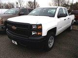 2014 Summit White Chevrolet Silverado 1500 WT Double Cab 4x4 #91362713
