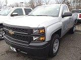 2014 Silver Ice Metallic Chevrolet Silverado 1500 WT Regular Cab #91362710