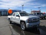 2014 Silver Ice Metallic Chevrolet Silverado 1500 High Country Crew Cab 4x4 #91363175