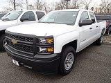 2014 Summit White Chevrolet Silverado 1500 WT Double Cab #91362706