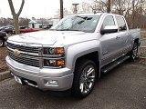 2014 Silver Ice Metallic Chevrolet Silverado 1500 High Country Crew Cab 4x4 #91362705
