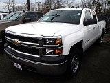 2014 Summit White Chevrolet Silverado 1500 WT Double Cab 4x4 #91362701