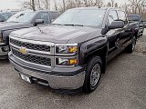 2014 Tungsten Metallic Chevrolet Silverado 1500 WT Crew Cab #91362700