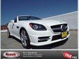 2014 Polar White Mercedes-Benz SLK 250 Roadster #91362946