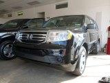 2014 Crystal Black Pearl Honda Pilot LX 4WD #91362860