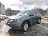 2014 Polished Metal Metallic Honda CR-V EX AWD #91362853