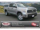 2014 Silver Sky Metallic Toyota Tundra SR5 Crewmax 4x4 #91362666