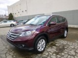 2014 Basque Red Pearl II Honda CR-V EX-L AWD #91362849