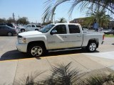 White Diamond Tricoat Chevrolet Silverado 1500 in 2011