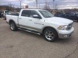 2011 Bright White Dodge Ram 1500 Laramie Crew Cab 4x4 #91363216
