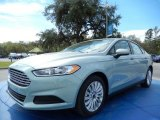 2014 Ice Storm Ford Fusion Hybrid S #91362903