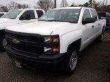 2014 Summit White Chevrolet Silverado 1500 WT Crew Cab 4x4 #91362718