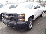 2014 Summit White Chevrolet Silverado 1500 WT Crew Cab 4x4 #91362717