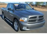 2012 Mineral Gray Metallic Dodge Ram 1500 ST Quad Cab 4x4 #91408259
