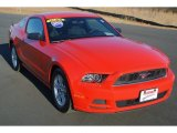 2013 Race Red Ford Mustang V6 Coupe #91408255