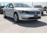 2014 Reflex Silver Metallic Volkswagen Passat TDI SEL Premium #91408330
