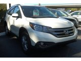 2014 White Diamond Pearl Honda CR-V EX-L #91407875