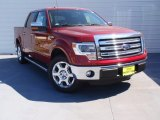 2014 Ruby Red Ford F150 Lariat SuperCrew #91408100