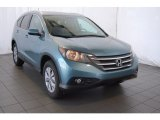 2014 Mountain Air Metallic Honda CR-V EX-L AWD #91407874
