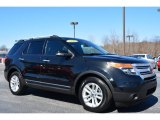 2011 Tuxedo Black Metallic Ford Explorer XLT #91408020