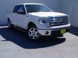 2014 White Platinum Ford F150 Lariat SuperCrew #91408099