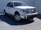 2014 Oxford White Ford F150 XLT SuperCrew 4x4 #91408097