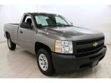 2013 Graystone Metallic Chevrolet Silverado 1500 LS Regular Cab #91408234