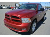 2012 Deep Cherry Red Crystal Pearl Dodge Ram 1500 ST Regular Cab #91408292