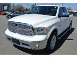 2014 Bright White Ram 1500 Laramie Crew Cab 4x4 #91408290