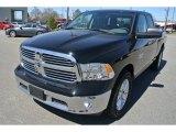 2014 Black Ram 1500 Big Horn Quad Cab #91408289