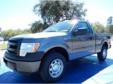 2014 Sterling Grey Ford F150 XL Regular Cab #91407980