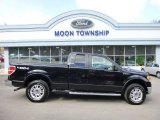 2010 Tuxedo Black Ford F150 Lariat SuperCab 4x4 #91408069