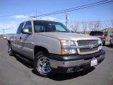 2004 Silver Birch Metallic Chevrolet Silverado 1500 LS Extended Cab #91408199