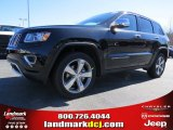 2014 Brilliant Black Crystal Pearl Jeep Grand Cherokee Limited #91449161