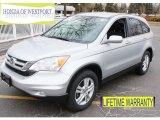 2011 Alabaster Silver Metallic Honda CR-V EX-L 4WD #91449065