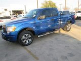 2014 Blue Flame Ford F150 STX SuperCab #91449041