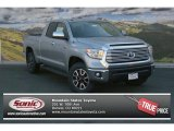 2014 Silver Sky Metallic Toyota Tundra Limited Double Cab 4x4 #91448952