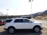 2014 White Platinum Ford Explorer Limited 4WD #91449098
